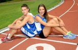 Jake Hanna and Chelsea Ribeiro will represent Canada at the 2013 World Youth (Under-18) Track and Field Championships in Ukraine this week. Wednesday, July 3, 2013.